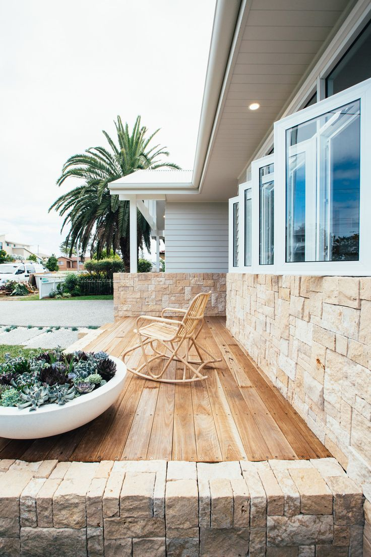Long Jetty Renovation Front Facade Reveal