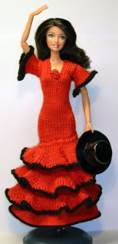 Barbie : robe espagnole