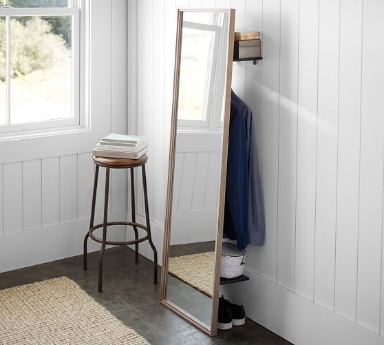 Streamline Your Out The Door Routine With This Mirror Organizer From Pottery  Barn.