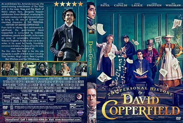 The Personal History Of David Copperfield 2020 Dvd Cover Dvd Covers Movie Blog Dvd
