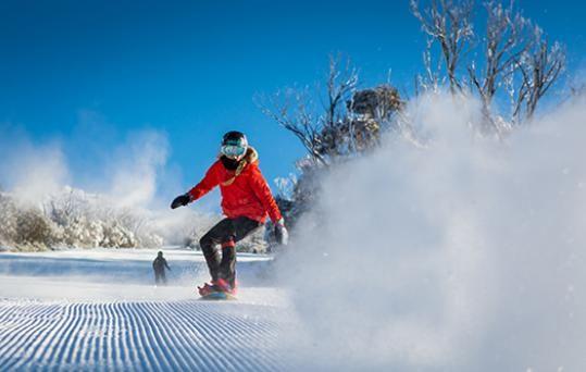Snowboarder, Thredbo
