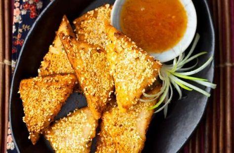 Sesame seed prawn toasts recipe - goodtoknow