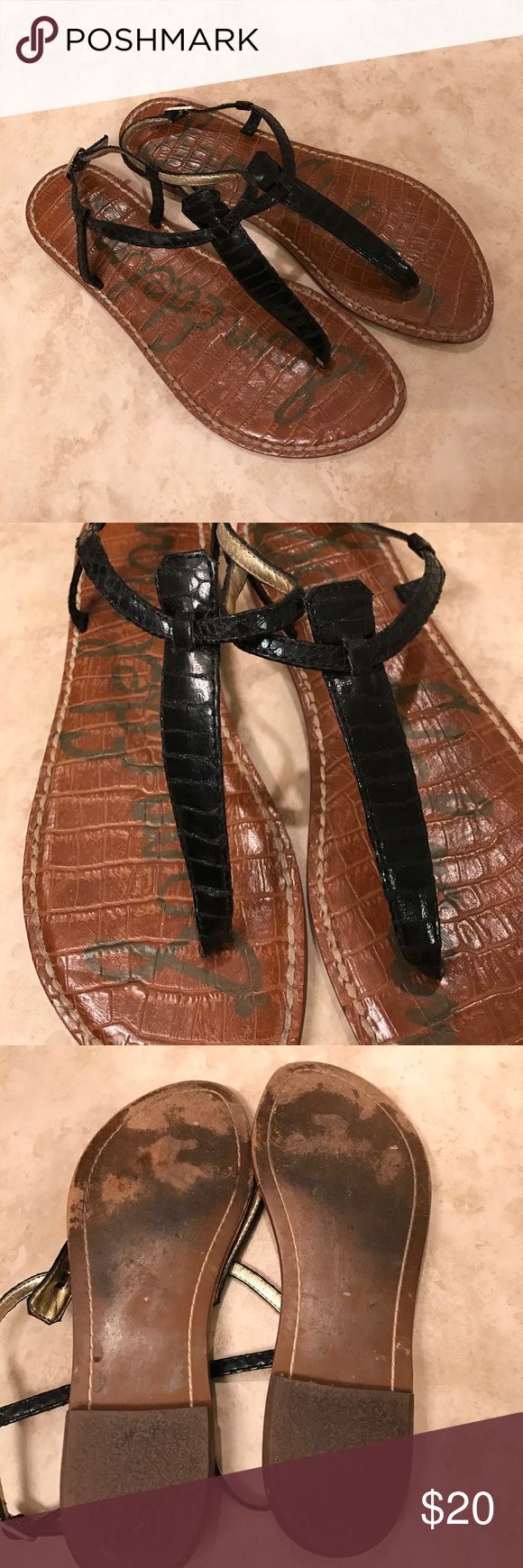 Sam Edelman Gigi sandals Sam Edelman Gigi sandals. I'm normally an 8 and these fit fine. Sam Edelman Shoes Sandals