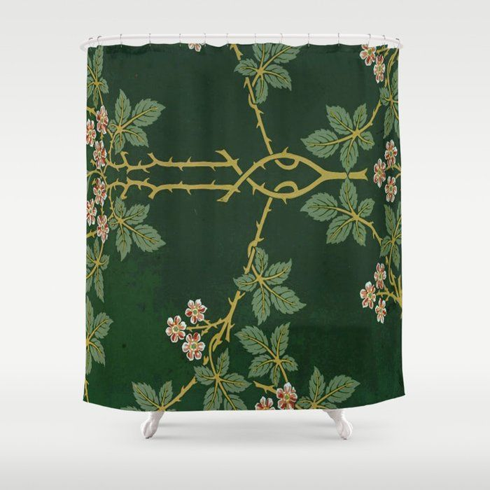 Buy Art Work Of William Morris Shower Curtain By Healinglove8
