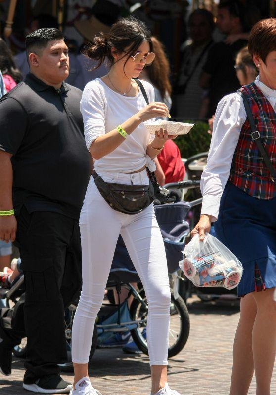 Kendall Jenner – Disneyland for North West's 2nd Birthday in Anaheim