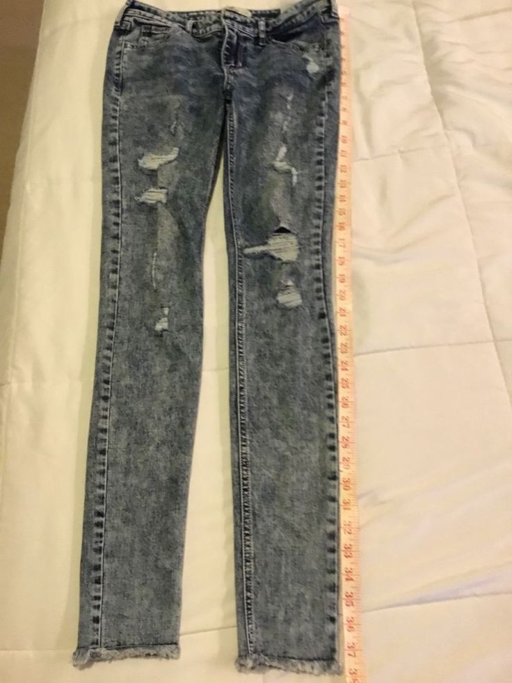 hollister ripped jeans ebay - 736×981