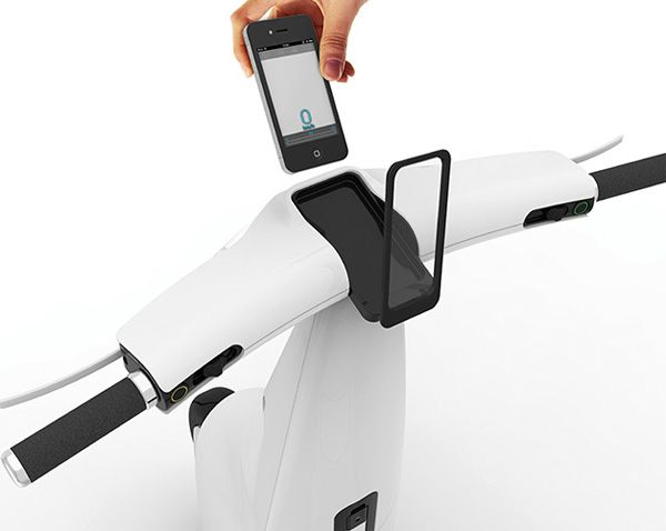 Will want to own this T Ride with a handlebar socket for iPhone, even I'm not an iPhone user. For this idea, the designer, Chen Kaiwen for Tone Design won the 2014 Red Dot Award: Design Concept Winner