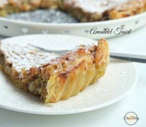 Amandel taart met bladerdeeg (Tarte de Amêndoa) portugees recept... Klaar in 35/45 min. afhankelijk van de oven..