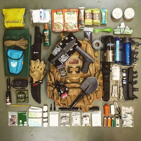 How to Build a Cheap Bug Out Bag! #bugoutbag #shtf #prepper