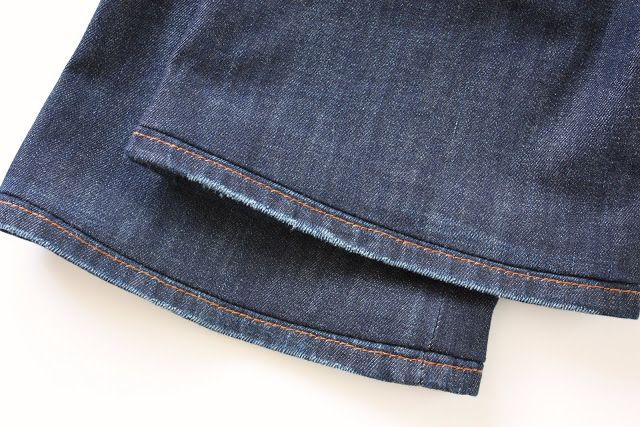 Como fazer bainha de jeans original | Clubinho da Costura