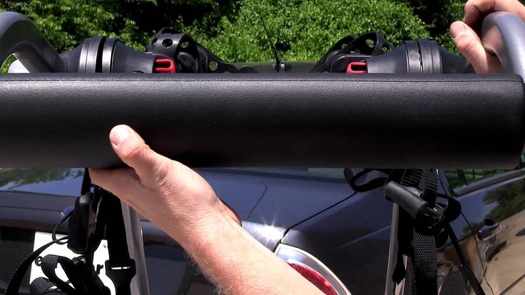 Review of the Yakima KingJoe Pro 2 Trunk Bike Rack - etrailer.com  - My bike Rack. How-to guide