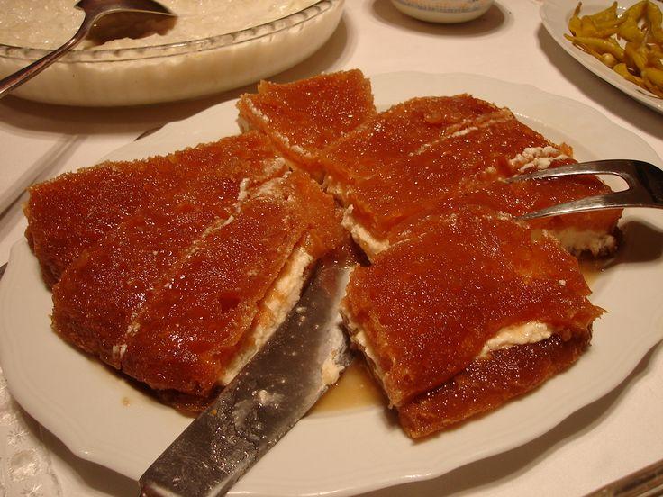 Ekmek Kadayifi #food #love #turkey #turkish #holiday #summer #love #vacation #visit #cooking