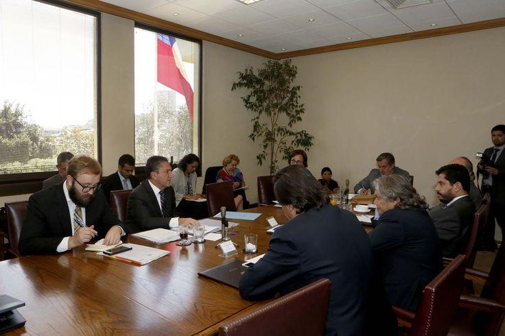 Ministro de Defensa José Antonio Gómez asistió a la sesión de la Comisión de Defensa del Senado