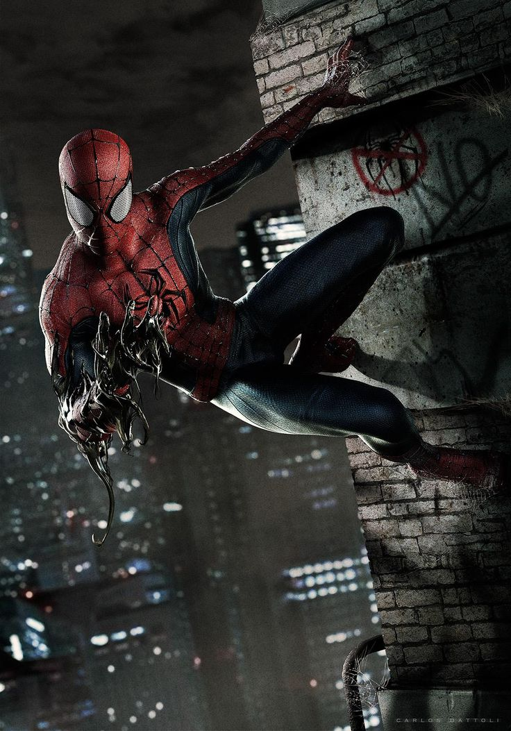 Again I liked the drama of this image and found that it feels like it has captured Spider man mid-flight and I wanted to use this sort of energy in my website.
