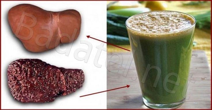 Prírodný nápoj na prečistenie a regeneráciu stukovatelej pečene