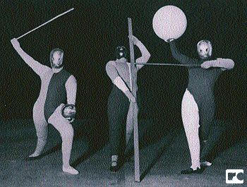 Form Dance, by Oscar Schlemmer. Bauhaus.