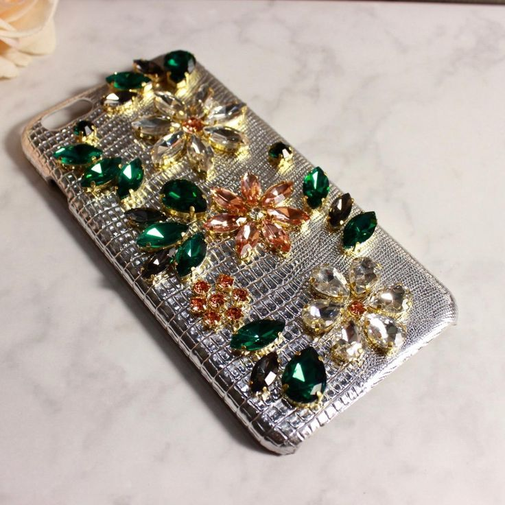 Classy Apple Iphone Cases&Covers With Genuine Leather Bling Bling Czech Crystal/Diamond Elegant Silver Color Charming Best Phone Cases Buy Cell Phones From Yamazhouzhe, $30.37| Dhgate.Com