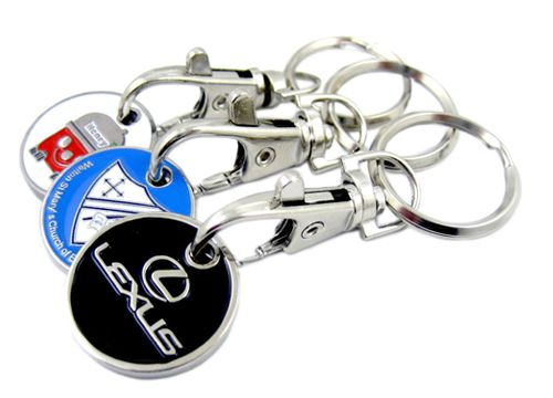 Low-cost promotional Keyrings that make perfect giveaways for events, schools, colleges and universities. Find them here > http://www.completemerchandise.co.uk/promotional-trolley-token-keyring.html