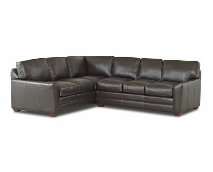 Savvy Gold Coast Leather True Sectional Sleeper In Outsider Chocolate