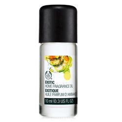 Exotic Home Fragrance Oil del Bodyshop.. Cuando sea rica mi casa olera a esto  aunque algo caro me conformo con unas gotitas de vez en cuanto por lo pronto..por 100 pesos compras como 10 litros de Fabuloso