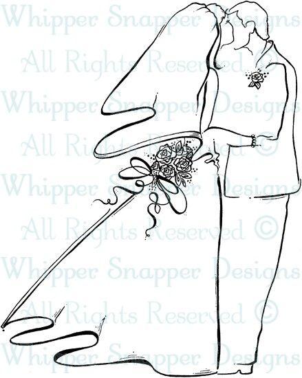 Bride & Groom - Wedding Images - Wedding - Rubber Stamps - Shop