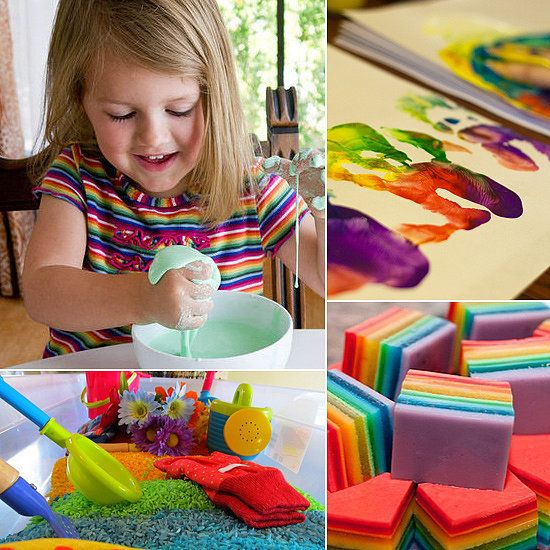 9 activities are designed to engage the senses, and many have the added bonus of challenging fine and gross motor skills as well. Happy playtime!