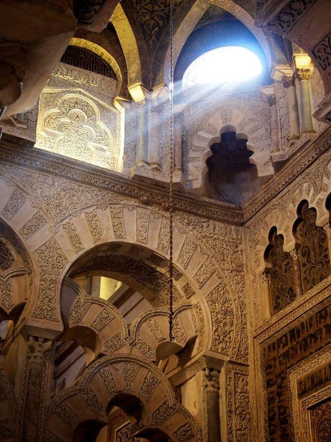 Skylight - Cordoba, Spain, Mesquita by Jorge Moredo, via 500px
