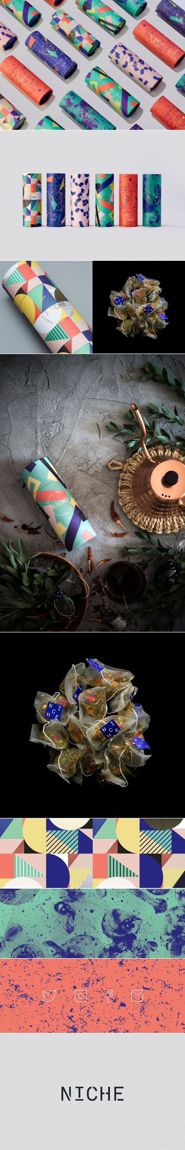 Niche is Definitely Not Your Grandmother's Tea — The Dieline   Packaging & Branding Design & Innovation News