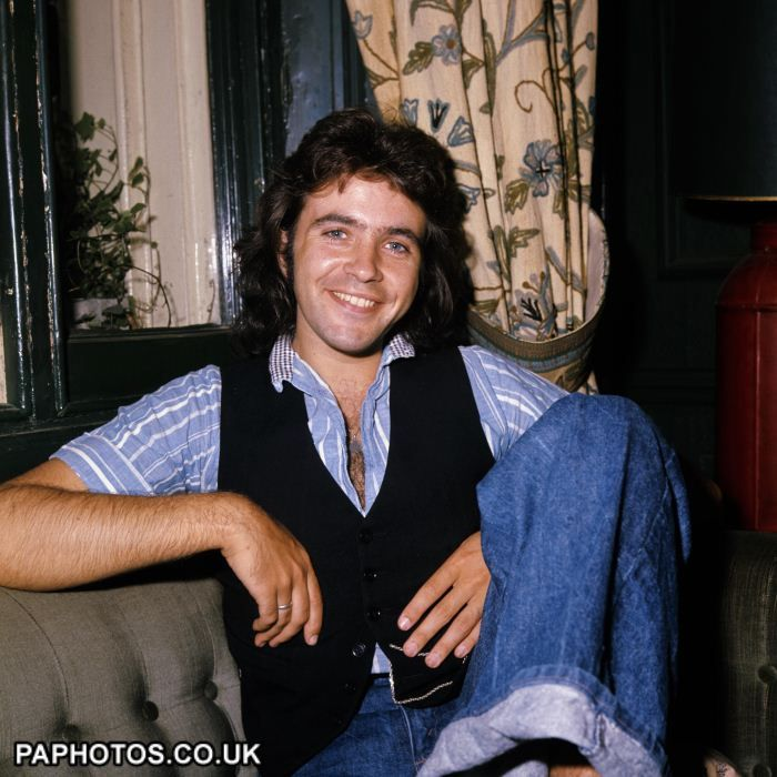 David Essex 1975  One of my first big crushes...those blue eyes!!