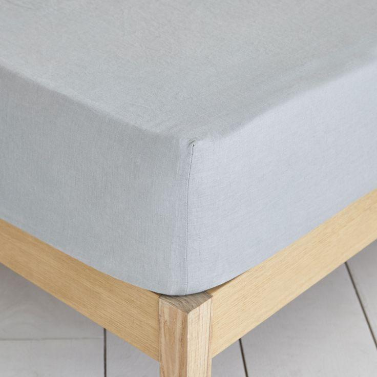 Light Grey Washed Linen Bed Linen - Bed Linen - BEDROOM | Zara Home Italia