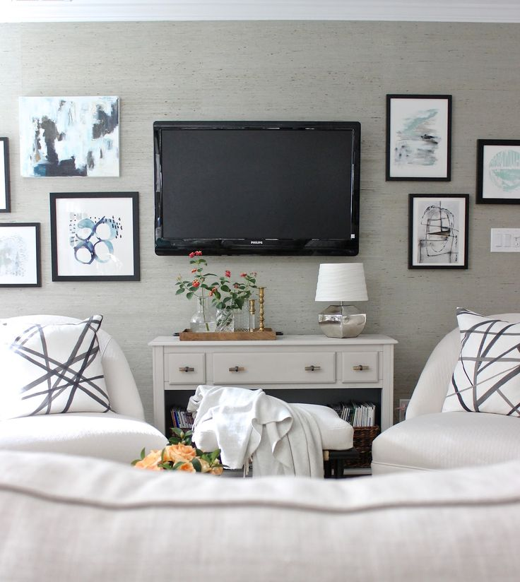 176 best TV Wall Decorating Ideas images on Pinterest | Living room ...