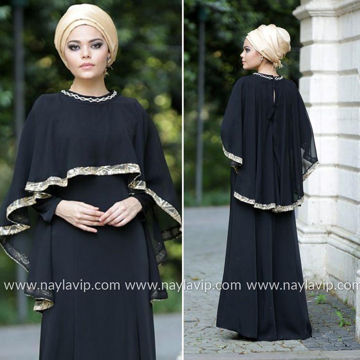 NAYLA COLLECTION - EVENING DRESS - 52446-01S #hijab #naylavip #hijabi #hijabfashion #hijabstyle #hijabpress #muslimabaya #islamiccoat #scarf #fashion #turkishdress #clothing #eveningdresses #dailydresses #tunic #vest #skirt #hijabtrends