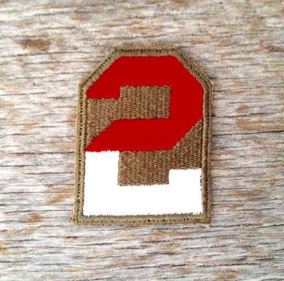 Vintage World War II Second Army Patch by tincanvintage on Etsy