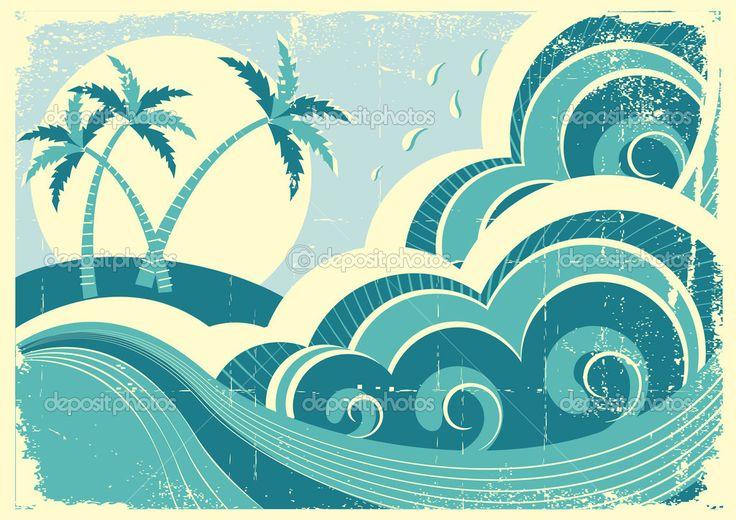 depositphotos_5425311-sea-waves-and-island.-Vector-vintage-graphic-illustration-of-wat.jpg (1024×724)