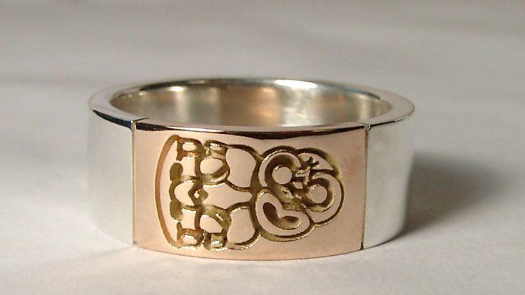 Iconic maori symbol the tiki, easily identifying you're a kiwi.