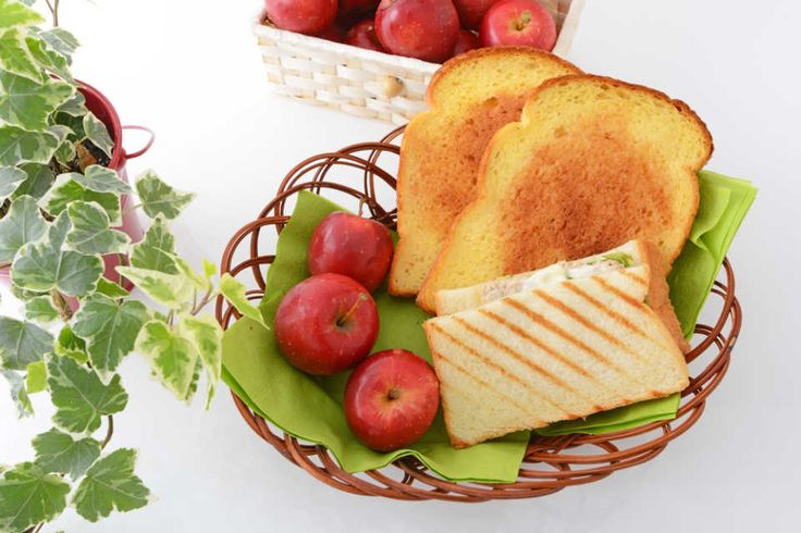 Apple and toast pictures