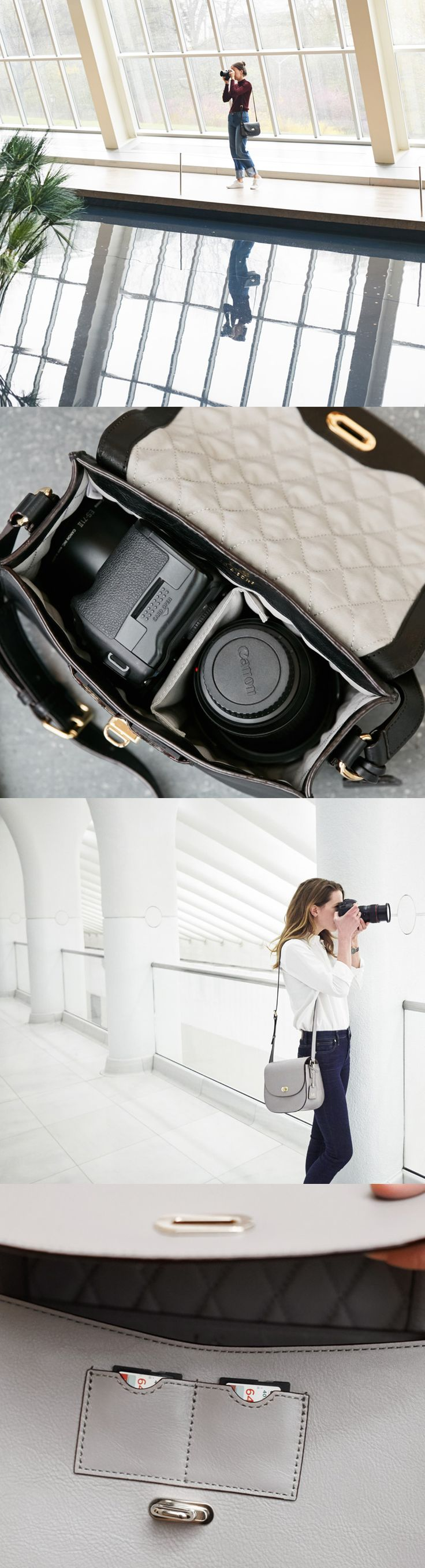 Finally, a camera bag that you'd be proud carry. The Claremont crossbody bag is the perfect accessory for style conscious photographers. Designed by Lo & Sons #loandsons