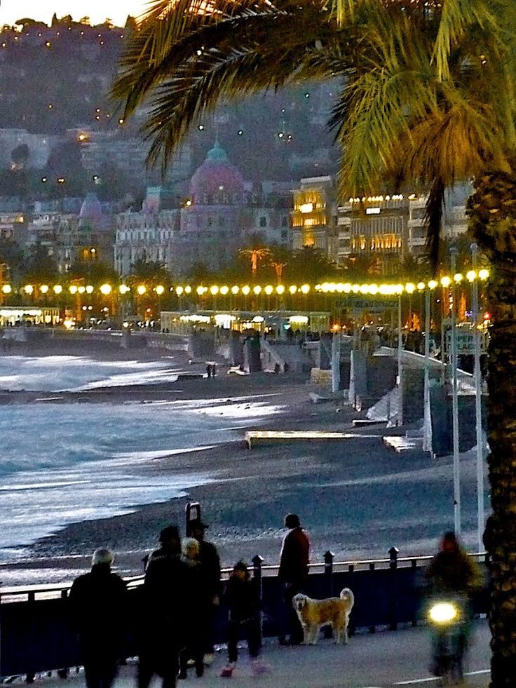 Nice, France - used to be one of my favourite places, I still miss it sometimes. I wonder if I'll ever go back