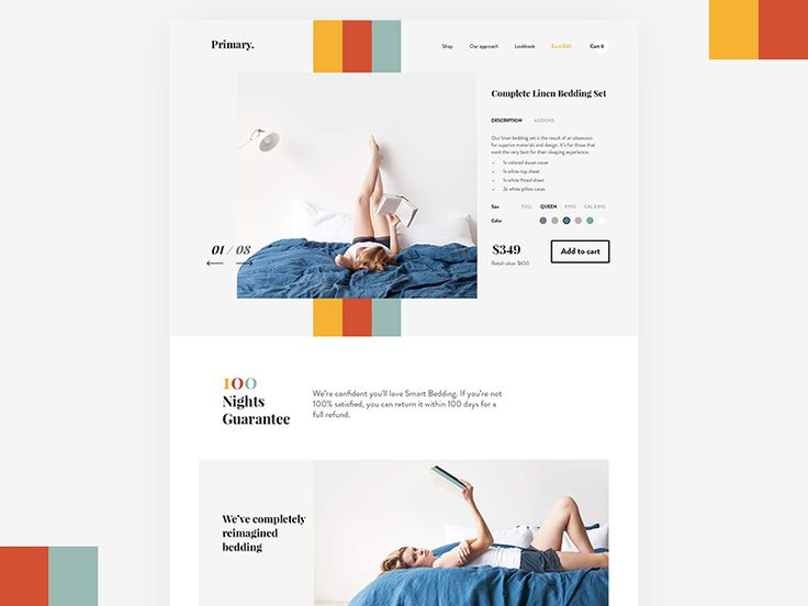 Product Page by Olia Gozha
