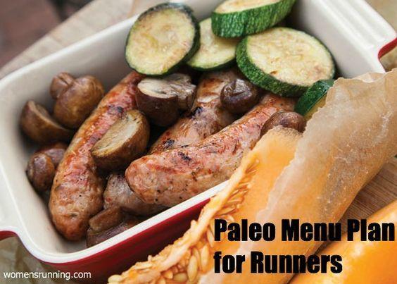7-Day Paleo Menu Plan for Runners! - Women's Running