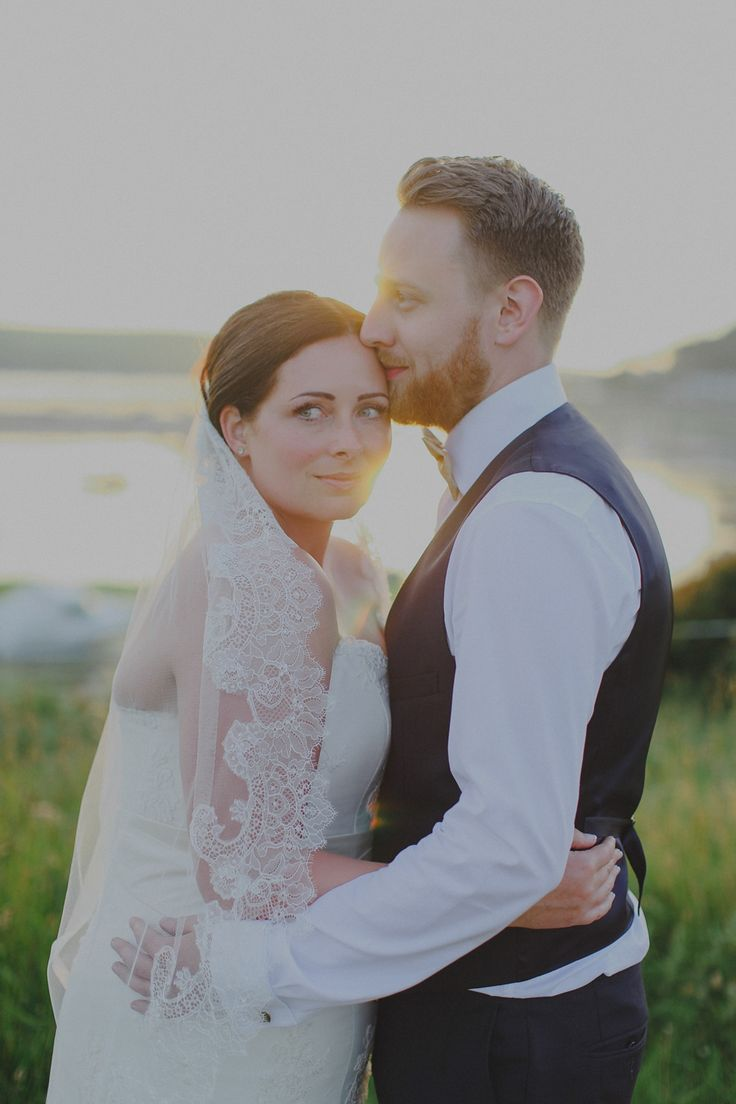 Dreamcatching By The Sea: A Pale Blue and Gold Cornish Summer Seaside Wedding | Love My Dress® UK Wedding Blog