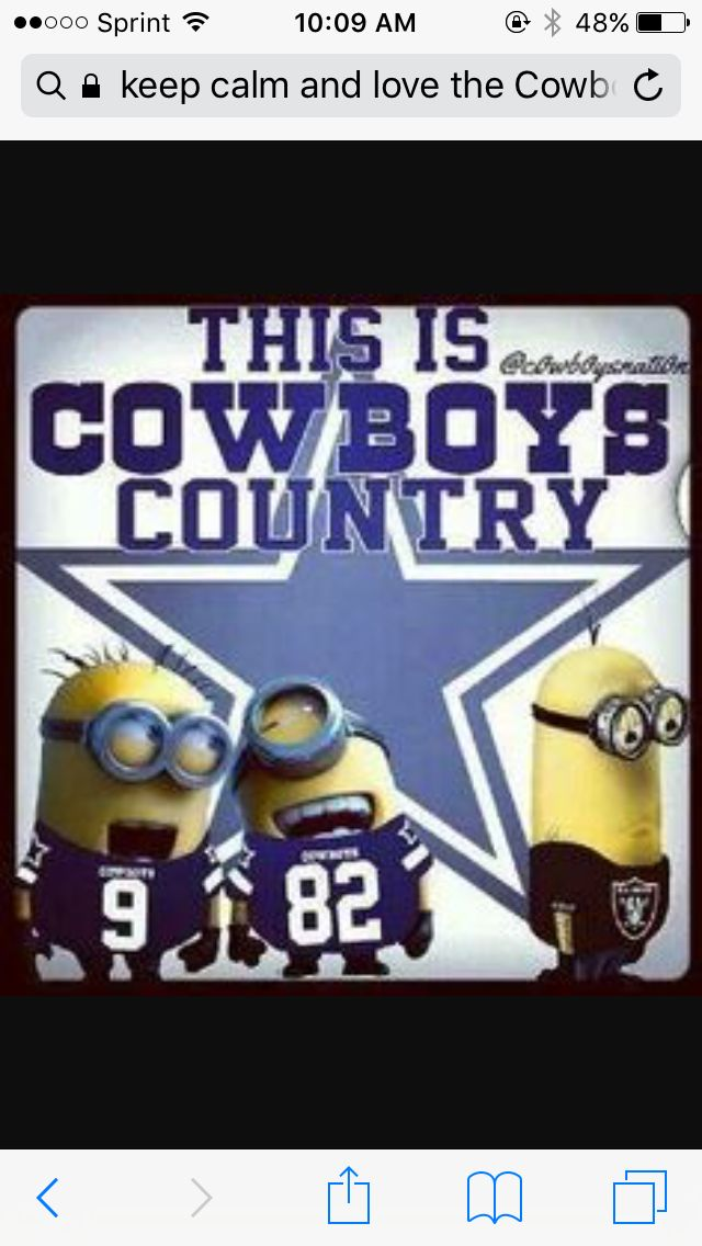 Who loves  Dallas cow boys