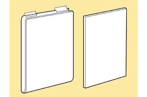 """SLATWALL ACRYLIC T-SHIRT DISPLAY W/WHITE PLASTIC INSERT - 6 SETS FOR SLAT PANELS by The Competitive Store- DirectSales10. $87.16. T-shirt display with plastic insert. Size:11-1/2W x 14""""H x 1""""D. Acrylic material. Works with all slatwall and slatgrid standard panels. Box of 6 sets. Box of 6 sets of acrylic T-shirt display with plastic insert. It is 11-1/2 W x 14"""" H x 1"""" D and works with all slatwall standard panels. The acrylic t-shirt helps display a folded t-shirt, ..."""
