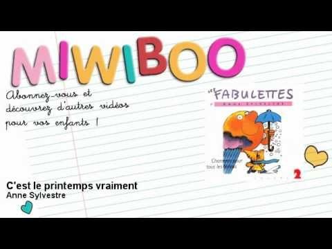 Anne Sylvestre - C'est le printemps vraiment - Miwiboo - YouTube