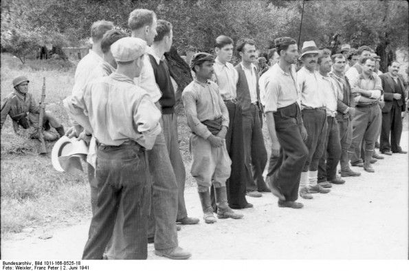 The Massacre of Kondomari refers to the execution of male civilians from the village of Kondomari in Crete by an ad hoc firing squad consisting of German paratroopers on 2 June 1941 during World War II. The shooting was the first of a long series of mass reprisals in Crete. It was orchestrated by Generaloberst Kurt Student, in retaliation for the participation of Cretans in the Battle of Crete which had ended with the surrender of the island only two days earlier.