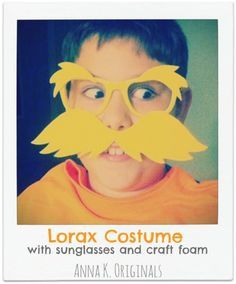 Last year in celebration of Dr. Seuss' birthday (March 2nd) my son's school invited its students to dress up like a favorite Dr. Seuss character. My kiddo picked The Lorax, whose most recognizable ...