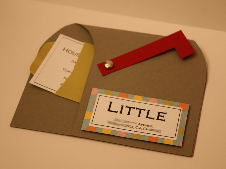 This may be one of the cutest invites I've ever received! My friend Lindsay is having a housewarming party…and these mailbox invitations are to-die-for-cute! Here's what's i…