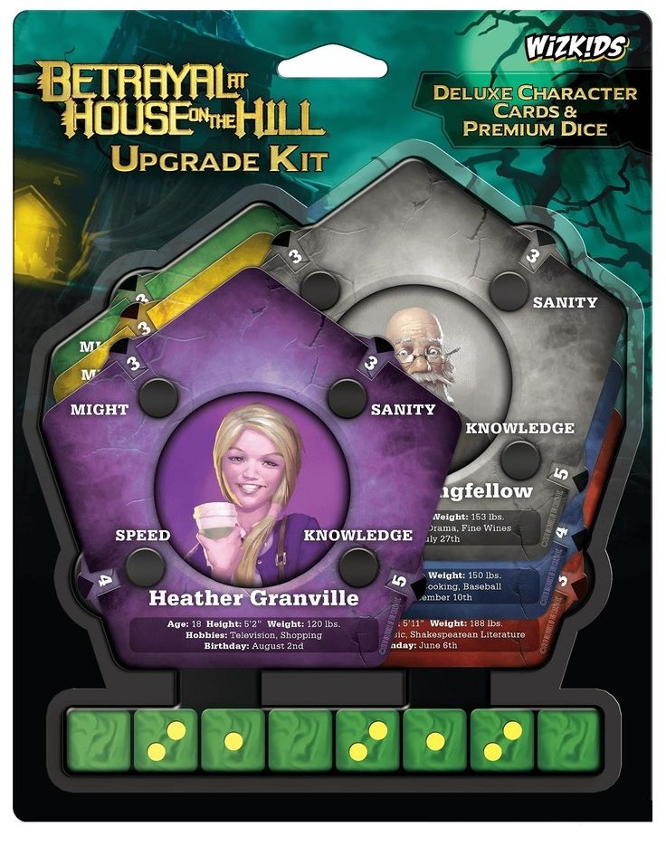 Betrayal at House on the Hill Expansion in 2020