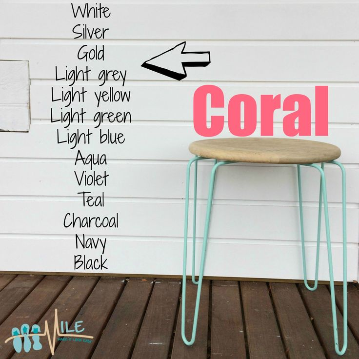 Coral goes with...