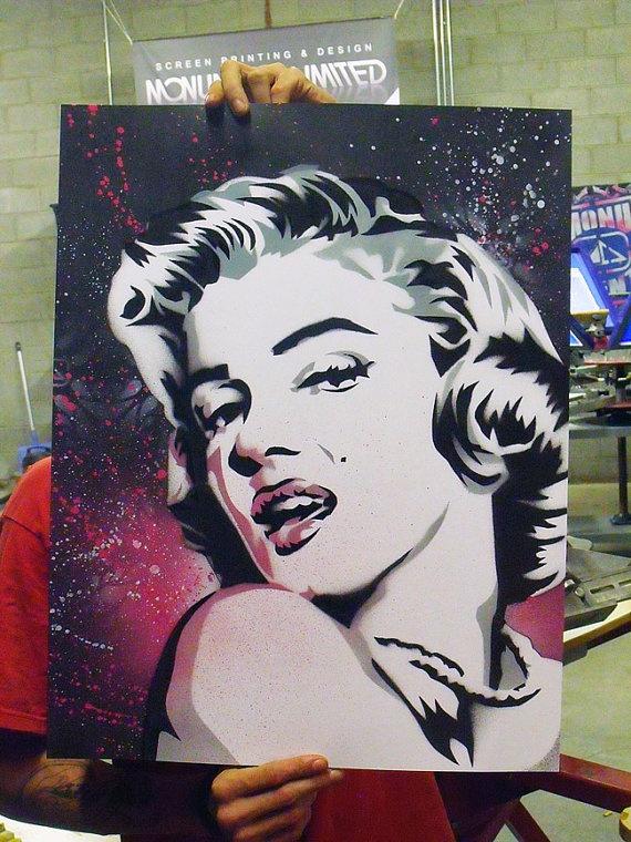 25  best ideas about marilyn monroe stencil on pinterest